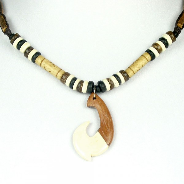 Fisch Haken Halskette