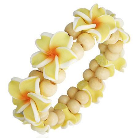 Hawaiiblüten Armband