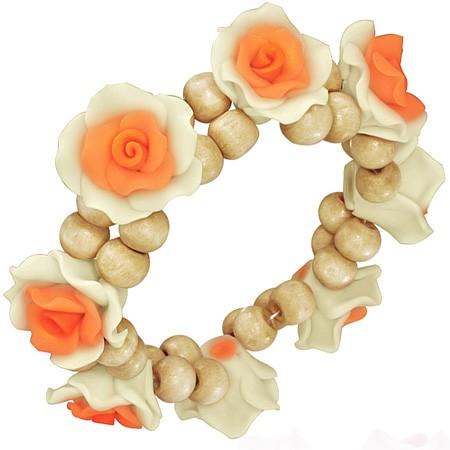 Apricot Rosen Armband