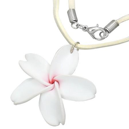 Frangipani Hawaii Halskette