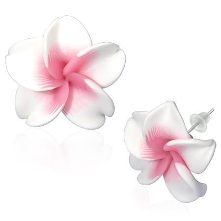 Hawaii Blüte Ohrstecker