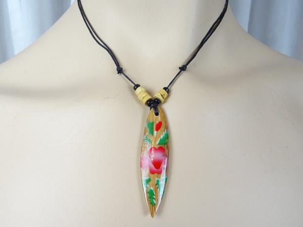 Surfboard Halskette Hibiskus